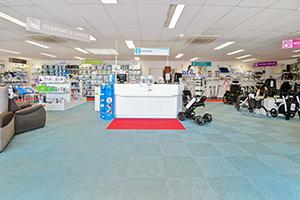 banque accueil magasin bastide le confort médical le-mans conseiller technique